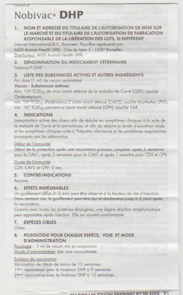 Vaccin Chiot Calendrier.Les Vaccins De Votre Chien Altdeutsche Schaferhund Des